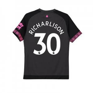 Everton Away Shirt 2018-19 - Kids with Richarlison 30 printing