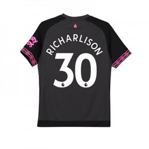 Everton Away Shirt 2018-19 – Kids with Richarlison 30 printing