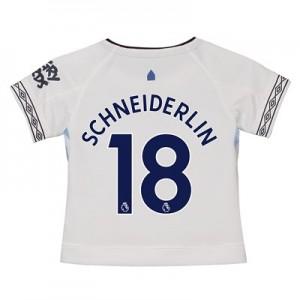 Everton Third Shirt 2018-19 - Kids with Schneiderlin 18 printing