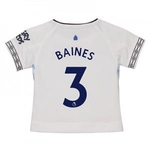 Everton Third Shirt 2018-19 – Kids with Baines 3 printing
