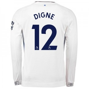 Everton Third Shirt 2018-19 - Long Sleeve with Digne 12 printing