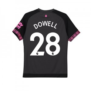 Everton Away Shirt 2018-19 – Kids with Dowell 28 printing