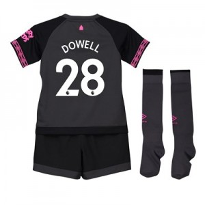 Everton Away Baby Kit 2018-19 with Dowell 28 printing