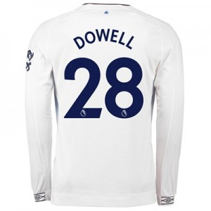 Everton Third Shirt 2018-19 - Long Sleeve with Dowell 28 printing