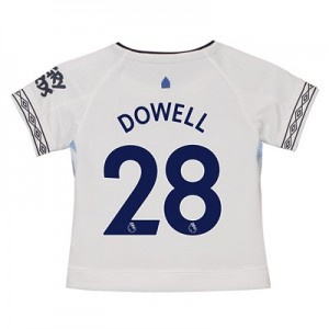 Everton Third Shirt 2018-19 - Kids with Dowell 28 printing