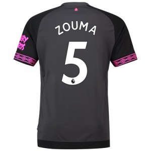 Everton Away Shirt 2018-19 with Zouma 5 printing