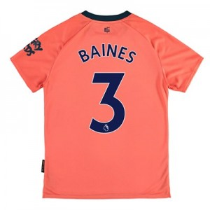 Everton Away Shirt 2019-20 – Kids with Baines 3 printing