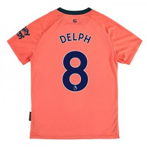 Everton Away Shirt 2019-20 – Kids with Delph 8 printing