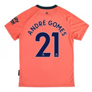 Everton Away Shirt 2019-20 – Kids with André Gomes 21 printing