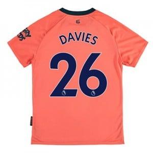 Everton Away Shirt 2019-20 – Kids with Davies 26 printing