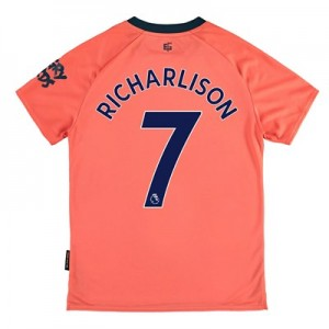 Everton Away Shirt 2019-20 - Kids with Richarlison 7 printing