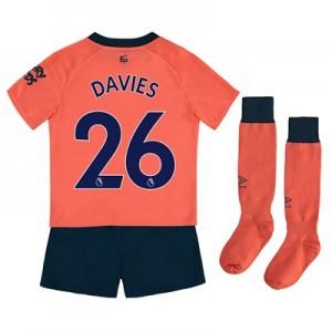 Everton Away Infant Kit 2019-20 with Davies 26 printing