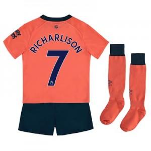 Everton Away Infant Kit 2019-20 with Richarlison 7 printing