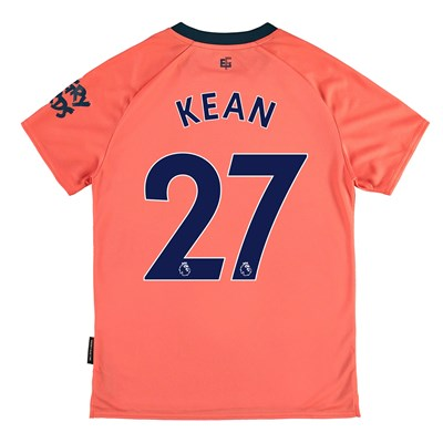 Everton Away Shirt 2019-20 – Kids with Kean  27 printing