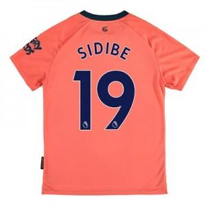 Everton Away Shirt 2019-20 - Kids with Sidibe 19 printing