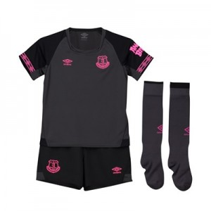 Everton Away Baby Kit 2018-19