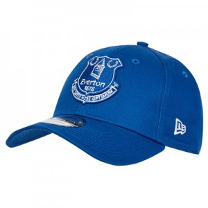 Everton New Era 9Forty Core Crest Cap - Royal - Adult
