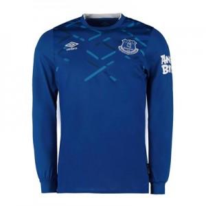 Everton Home Shirt 2019-20 - Kids - Long Sleeve