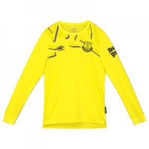 Everton Goalkeeper Home Shirt 2019-20 - Long Sleeve - Kids