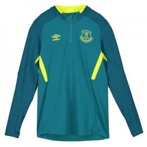 Everton Training Half Zip Sweatshirt – Blue – Kids