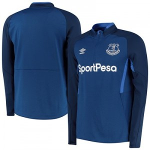 Everton Half Zip Sweatshirt - Dark Blue