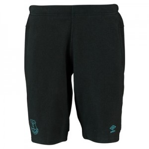 Everton Pro Fleece Shorts – Black