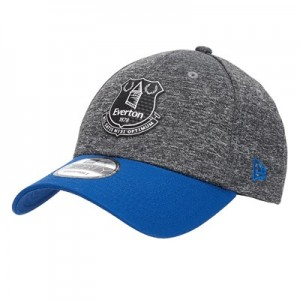 Everton New Era Shadow Tech 9FORTY Adjustable Cap - Grey - Adult