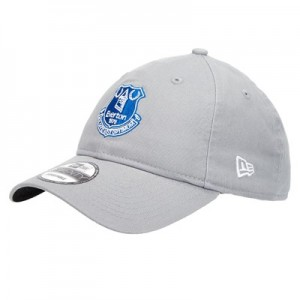 Everton New Era 9TWENTY Adjustable Cap - Grey - Adult
