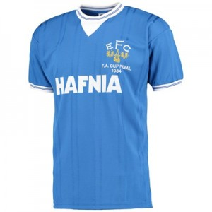 Everton 1984 FA Cup Final Shirt