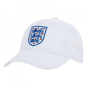England FA Core Cap - White - Adult