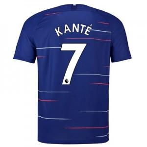 Chelsea Home Stadium Shirt 2018-19 with Kanté 7 printing