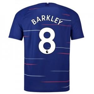 Chelsea Home Stadium Shirt 2018-19 with Barkley 8 printing