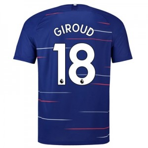 Chelsea Home Stadium Shirt 2018-19 with Giroud 18 printing