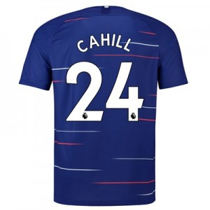 Chelsea Home Stadium Shirt 2018-19 with Cahill 24 printing