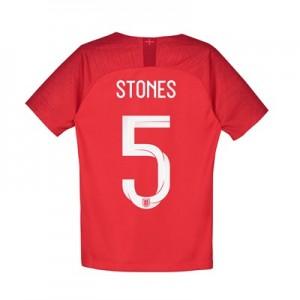 England Away Stadium Shirt 2018 - Kids with Stones 5 printing