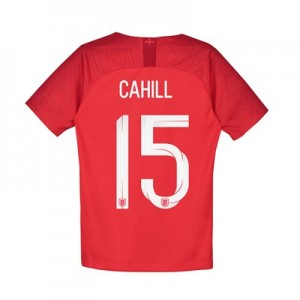 England Away Stadium Shirt 2018 – Kids with Cahill 15 printing
