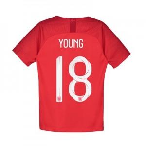 England Away Stadium Shirt 2018 - Kids with Young 18 printing