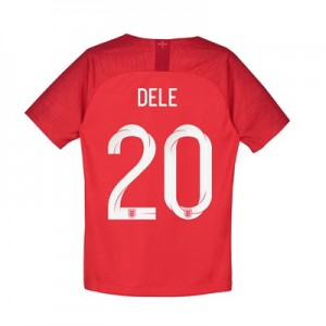 England Away Stadium Shirt 2018 - Kids with Dele 20 printing