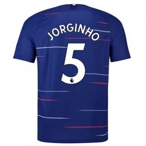 Chelsea Home Stadium Shirt 2018-19 with Jorginho 5 printing