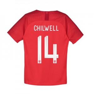 England Away Stadium Shirt 2018 – Kids with Chilwell 14 printing