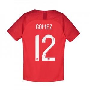 England Away Stadium Shirt 2018 – Kids with Gomez 12 printing