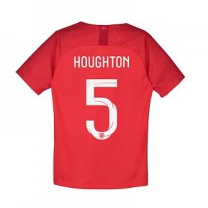 England Away Stadium Shirt 2018 - Kids with Houghton 5 printing