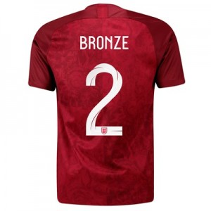 England Away Stadium Shirt 2019-20 - Men's with Bronze 2 printing