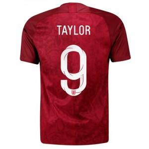 England Away Stadium Shirt 2019-20 - Men's with Taylor 9 printing