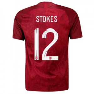 England Away Stadium Shirt 2019-20 - Men's with Stokes  12 printing