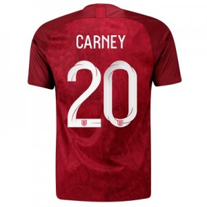 England Away Stadium Shirt 2019-20 - Men's with Carney 20 printing