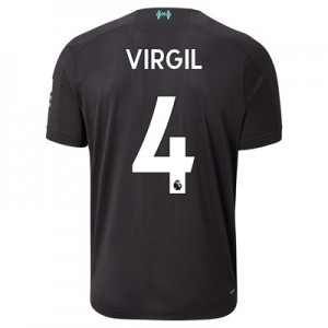 Liverpool Third Shirt 2019-20 with Virgil 4 printing