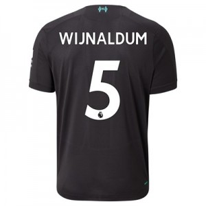 Liverpool Third Shirt 2019-20 with Wijnaldum 5 printing