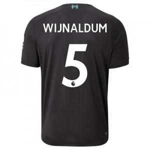Liverpool Third Shirt 2019-20 with Wijnaldum 5 printing