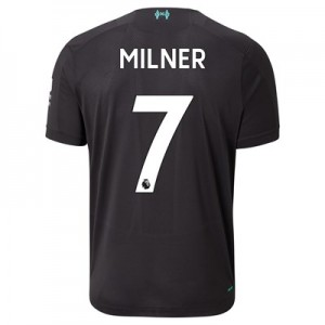 Liverpool Third Shirt 2019-20 with Milner 7 printing